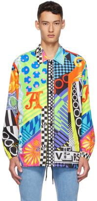 Versace Multicolor Pop Temple Print Jacket