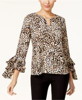 Thalia Sodi Ruffled-Sleeve Top, Created for Macy's