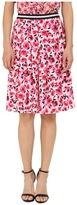 Kate Spade Mini Rose Pleated Skirt Women's Skirt