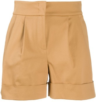 Alberta Ferretti Pleated Waist Shorts