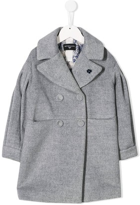 MonnaLisa Double-Breasted Coat