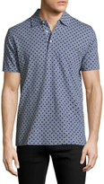 Brooks Brothers Printed Slim Fit Cotton Polo