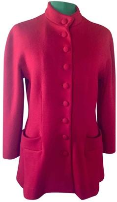 Genny Red Wool Coat for Women