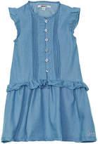 DKNY Girls' Pintuck Dress