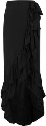 Pilyq Midnight Kiki Gauze Wrap Skirt