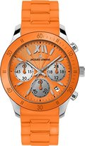 Jacques Lemans Women's 1-1587G Rome Sports Sport Analog Chronograph with Silicone Strap Watch