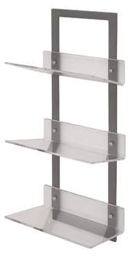 Mercer41 Whipton Metal/Acrylic Floating Shelf Mercer41