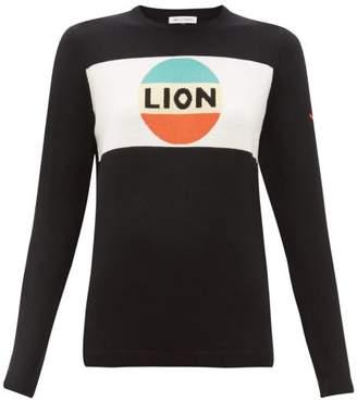 Bella Freud Lion Wool Sweater - Womens - Black Multi