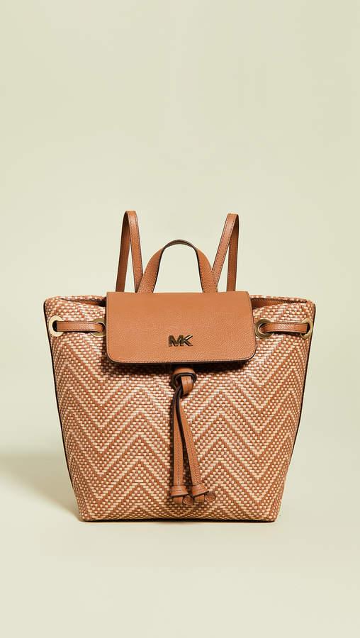 MICHAEL Michael Kors Junie Medium Flap Backpack