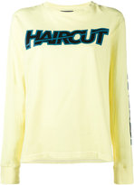 Ashley Williams - 'Haircut' Long Sleeved Sweatshirt - women - Cotton - XS