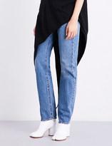Maison Margiela Boyfriend-fit mid-rise jeans