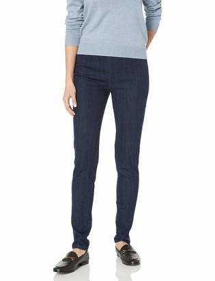 Joan Vass Women's Slim Ankle Demim Stretch Jean