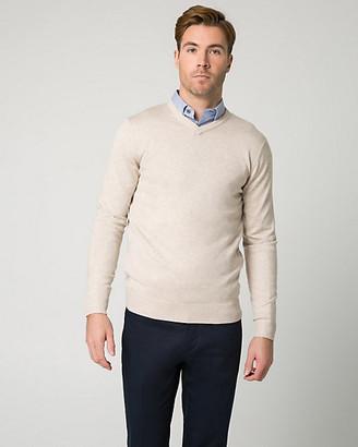 Le Château Rayon Blend V-Neck Sweater