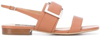 Sergio Rossi 20mm Buckle Detail Sandals