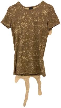 Bernhard Willhelm Khaki Cotton Top for Women Vintage
