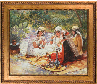 Frederick Overstock Art La Pastiche By Overstockart The Card Players By Arthur Bridgman