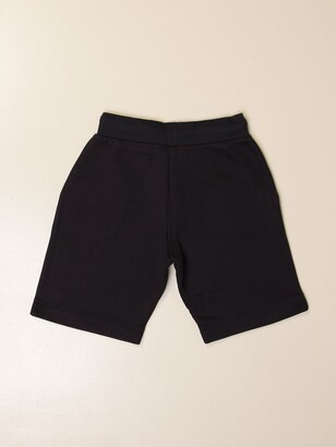 Emporio Armani Jogging Bermuda Shorts In Cotton
