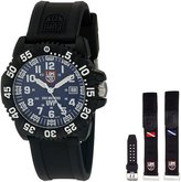 Luminox Men's 3054.SET Scott Cassel Analog Display Swiss Quartz Black Watch