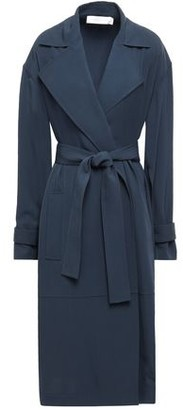 Victoria Beckham Belted Twill Trench Coat