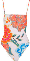 Mara Hoffman Floral-print Swimsuit - Orange