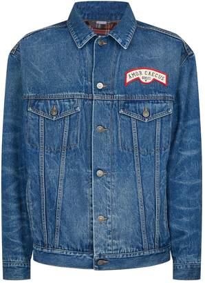 Gucci Applique Denim Jacket
