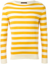 The Gigi - striped knitted sweater - men - Cotton - L