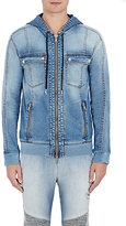 Balmain Men's Zip-Front Hooded Jacket