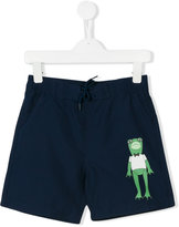 Mini Rodini Frog swim shorts - kids - Recycled Polyester - 2 yrs