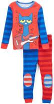 Rashti & Rashti Red & Blue Pete the Cat Pajama Set - Infant & Toddler