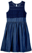Ella Moss Mariam Crochet Dress (Big Girls)