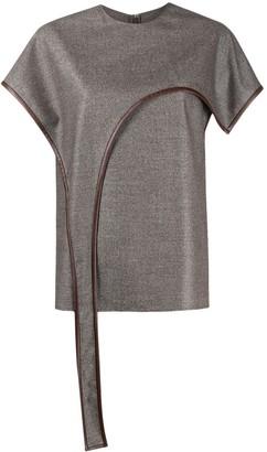 Stella McCartney Marlow drape-front top