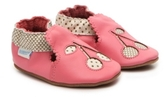 Robeez Cherry Girls Infant Slip-On Crib Shoe