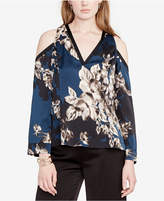 Rachel Roy Printed Cold-Shoulder Kimono Mix Top, Created for Macy's