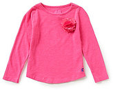 Joules Little Girls 3-6 Corsage-Detailed Jersey Top