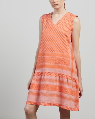 Cecilie Copenhagen Women's Pink Mini Dresses - Dress 2 V No Sleeves - Size S at The Iconic