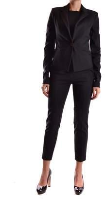 Pinko Women's Black Viscose Blazer.