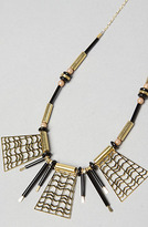 Kris Nations The Kimo Necklace in Black and Gold