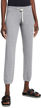 Monrow Heather Supersoft Vintage Sweatpants