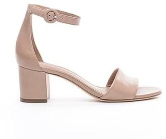 Bernardo Belinda Blush Block Heel Sandal