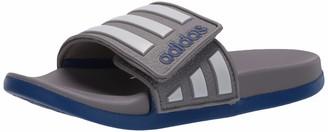 adidas Boys' Adilette Comfort Adj K Slide Sandal