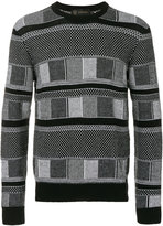 Versace crew neck jumper