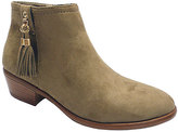 Wild Diva Taupe Manny Boot