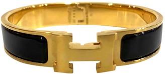 Hermã ̈S HermAs Clic H Gold Metal Bracelets