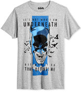Bioworld Men's Batman Defines Graphic-Print T-Shirt
