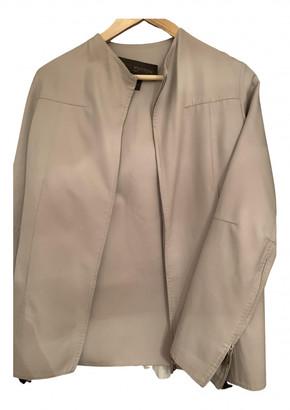 Louis Vuitton Beige Cotton - elasthane Dresses