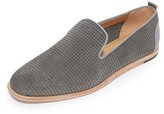 H By Hudson Vita Suede Perforated Loafers