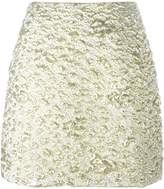 Kenzo cloqué mini skirt