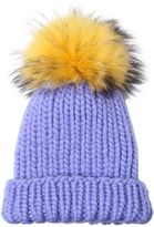 Eugenia Kim Rain Wool Tricot Hat With Pompom