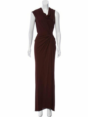 Narciso Rodriguez 2019 Long Dress w/ Tags Brown