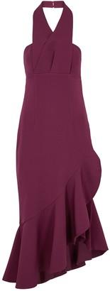 Keepsake Delight Halterneck Cady Midi Dress